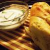 Ideea mea de cină: Tzatziki și baghetă cu unt și verdețuri