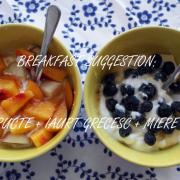 Breakfast obsession, vară 2014: Iaurt grecesc cu fructe proaspete și miere