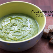 Supă cremă de broccoli și unt de arahide