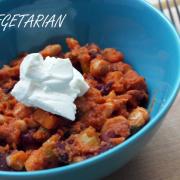 Chili vegetarian rapid de făcut