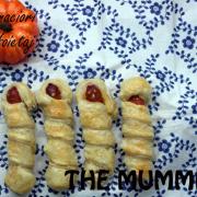 Seria Halloween: Cârnăciori în foietaj pe post de mumii la cuptor