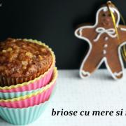 Brioșe, ediția de toamnă: Cu mere și migdale