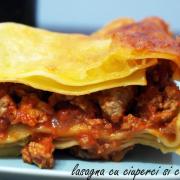 Lasagna cu carne de curcan și ciuperci