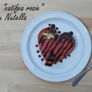 """Prăjitură """"catifea roșie"""" cu Nutella"""