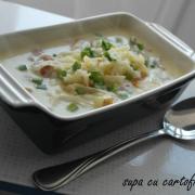 Supă cu cartofi și bacon