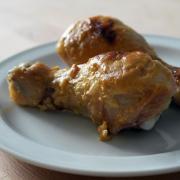 Pulpe de pui cu muștar Dijon și lime