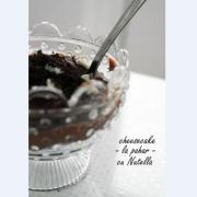 Cheesecake la pahar. Cu Nutella și Oreo