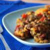 Curry cu linte și rubarbă