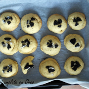 Fursecuri cu Oreo / Oreo filled cookies