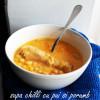 Supă chilli cu pui și porumb