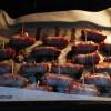 Cârnăciori în bacon. Masa de Crăciun