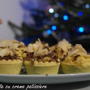 Mini tarte cu creme patissiere. Masa de Revelion