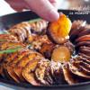 Cartofi dulci la cuptor - cu rozmarin și usturoi