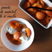 Caise poșate în sirop de mușețel, portocală și vanilie