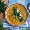 Supă indiană de conopidă