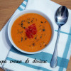 Supă cremă de dovleac