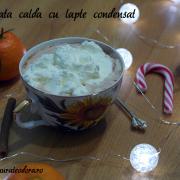Ciocolată caldă cu lapte condensat