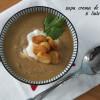 Supă cremă de castane și linte