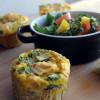 Cheap clean January: 'Brioșe' de mic-dejun din ouă, spanac, șuncă și Cheddar