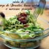 Cheap clean January: Salată cu varză de Bruxelles, bacon confiat și merișoare