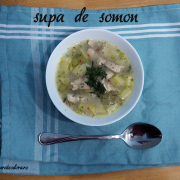 Cheap clean January: Supă de somon