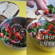Salsa de căpșuni și doar alte câteva ingrediente