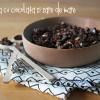 Granola cu sare de mare și ciocolată neagră