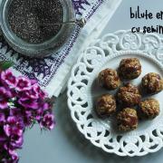 Bile 'energice' cu semințe de chia
