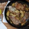 Cotlete de porc cu mere și ceapă