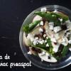 Salată cu spanac proaspăt și-un mic și cuprinzător review de robot de bucătărie