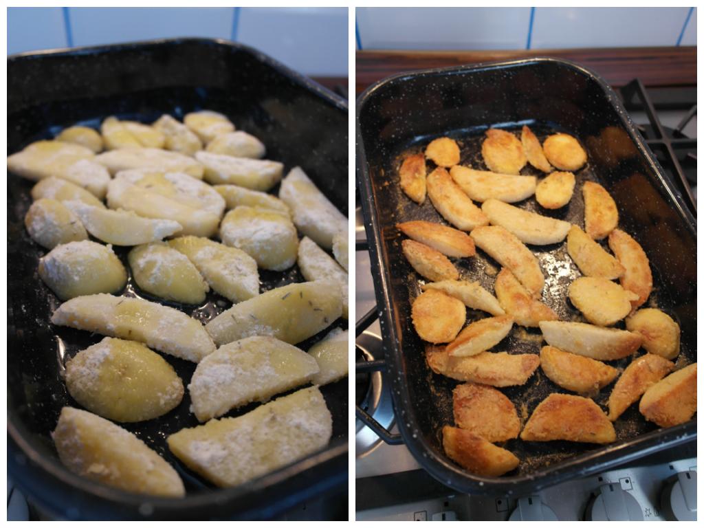 colaj cartofi parmezan