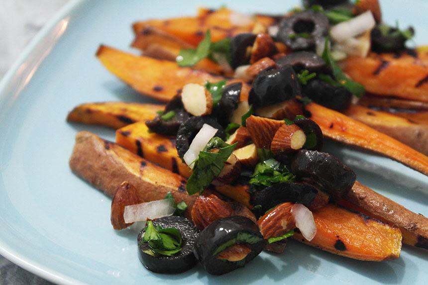 cartofi dulci grill