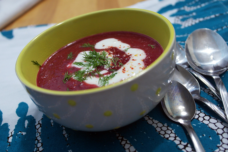supa sfeclă