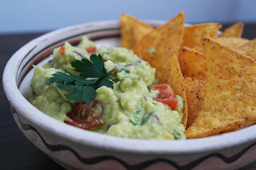 guacamole cu leurda