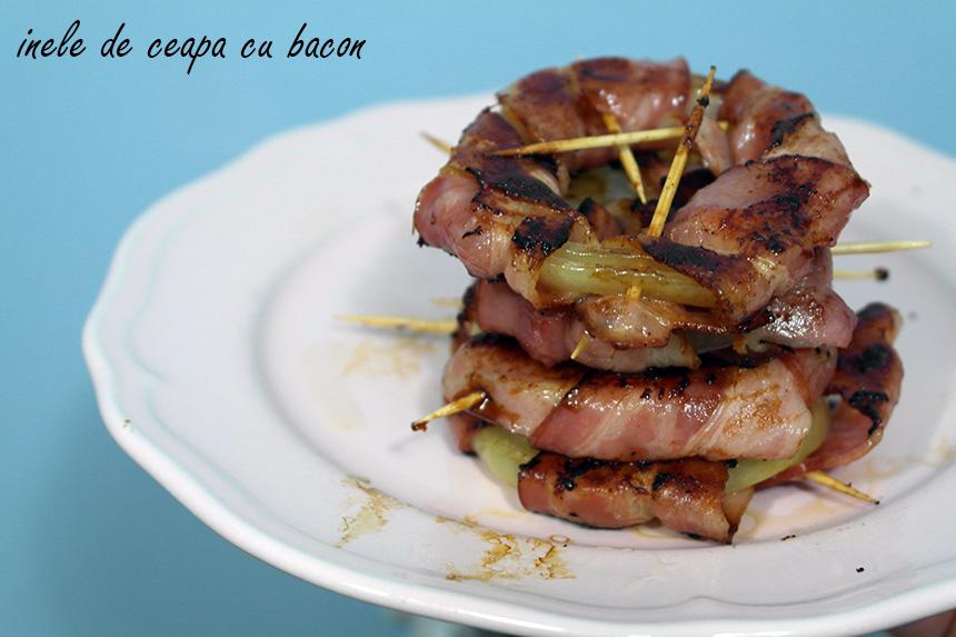 inele de ceapa cu bacon