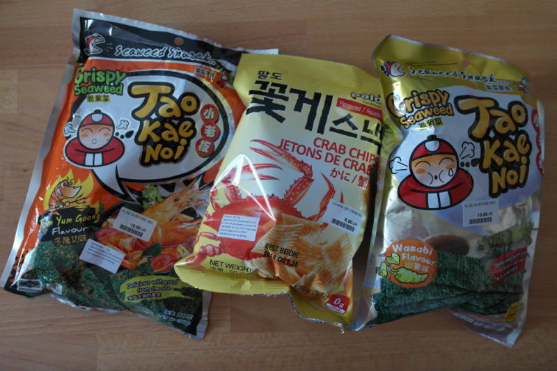 snacks asiatice