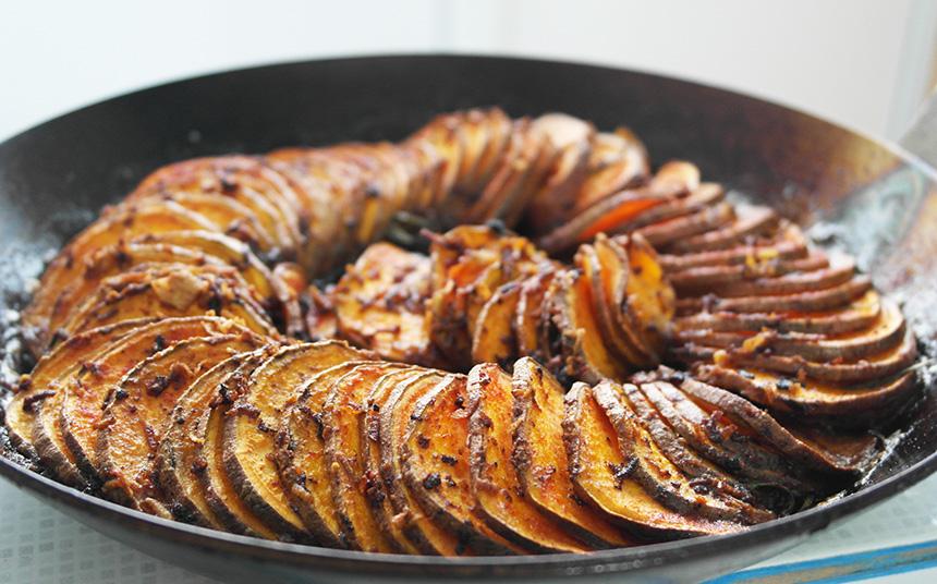 cartofi dulci rozmarin