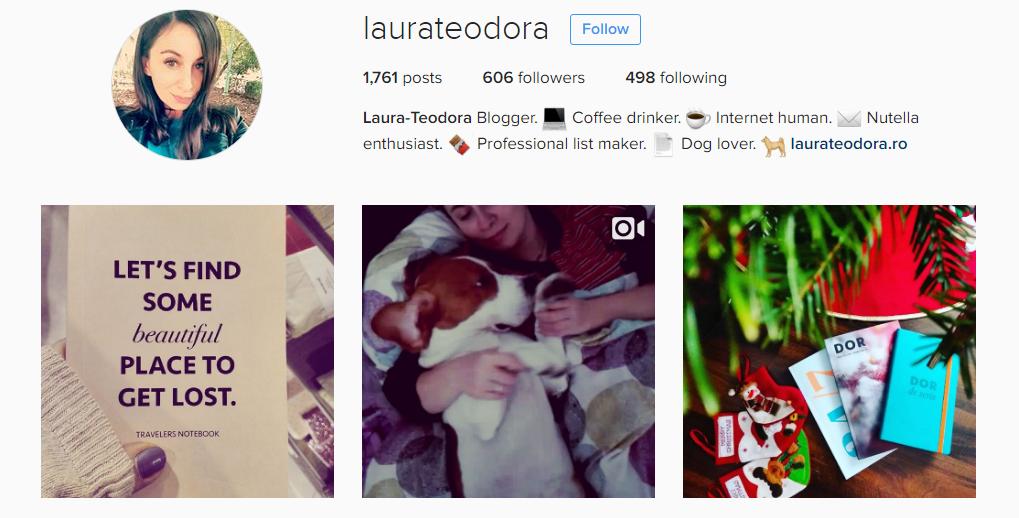 laura teodora instagram