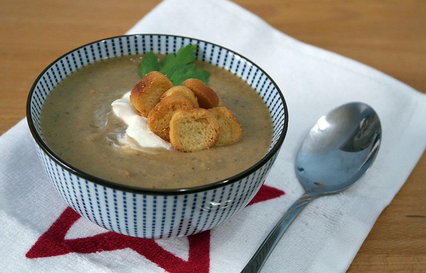 supa crema de castane