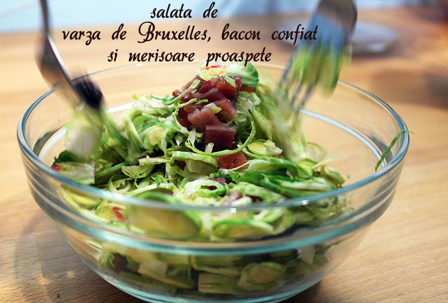 salata de varza de Bruxelles