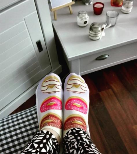 donut socks