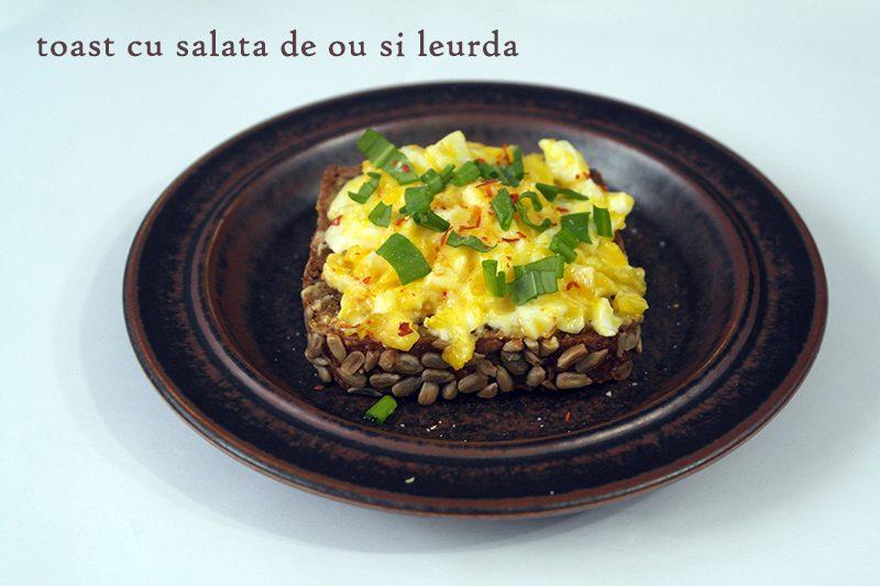 toast salata ou leurda