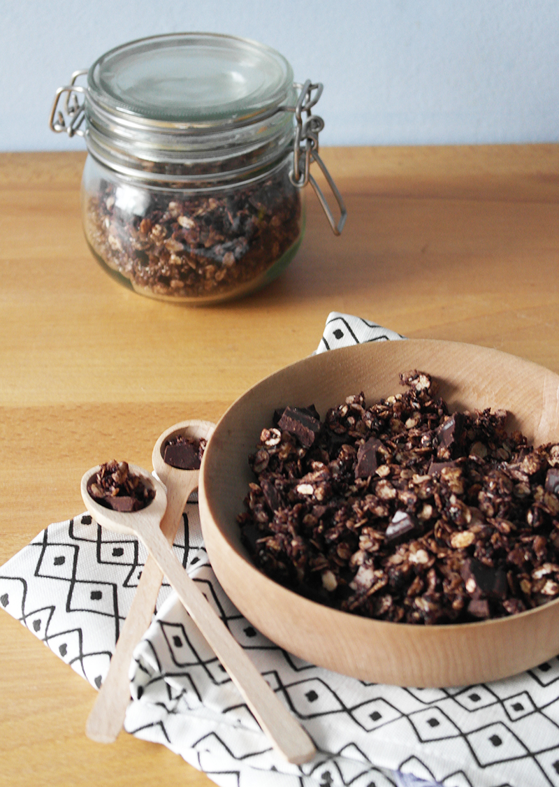 granola cu cioco si sare