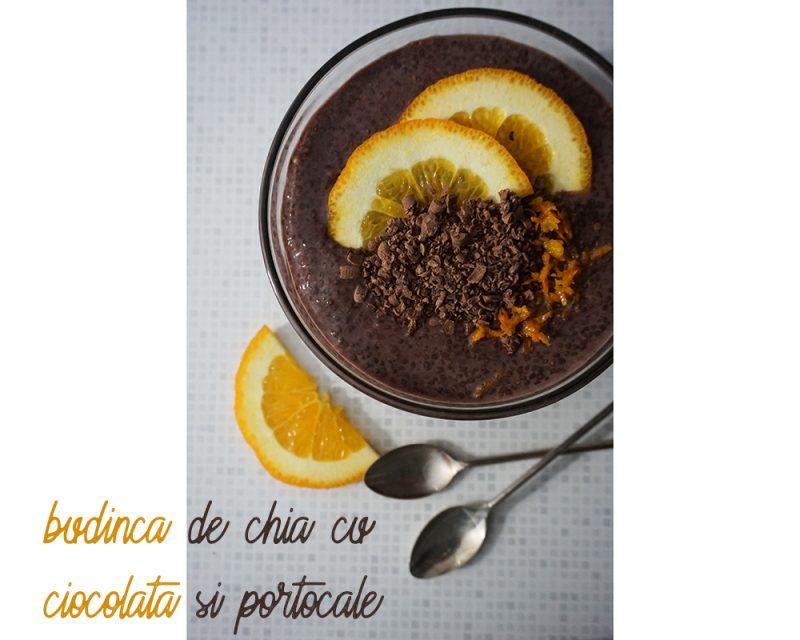 budinca de chia cu ciocolata si portocale
