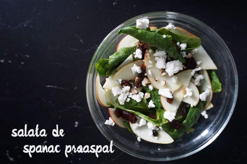 salata de spanac proaspat